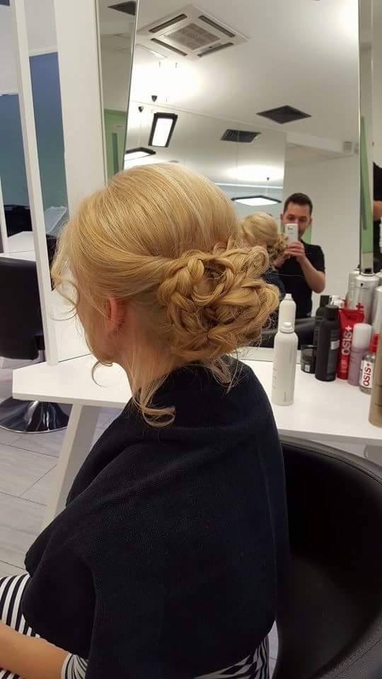 Undone Braid Hairstyle @ Georgi Petkov Salon