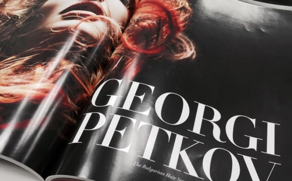 """Georgi  Petkov – The Bulgarian Hair Sensation"" EGO Magazine, Dubai"
